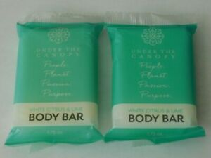 2 - UNDER THE CANOPY WHITE CITRUS & LIME BODY BAR (New In Package)