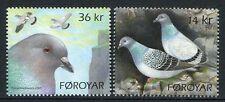 Färöer 2009 Tauben Doves Felsentauben Vögel Birds 683-684 Postfrisch MNH