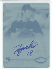 Tsuyoshi Wada 2012 Topps FINEST AUTO ROOKIE Card Cyan Printing Plate #AR-TW MINT