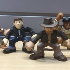 Indiana Jones Adventures Kingdom Of The Chrystal Skull Action Figure Set
