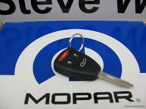 06-07 Dodge 300 Durango New Key Keyless Entry Remote Fob Mopar Factory Oem