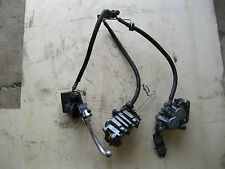 2001 2002 2003 KAWASAKI ZX 7 R  COMPLETE FRONT BRAKE SYSTEM MASTER CYL CALIPERS