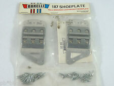 Barelli pedal cleats 187 metal W hardware Vintage road Track Racing Bicycle NOS
