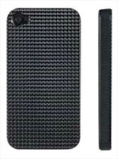 Negro Ultra Ligero Duro Funda Piel Para Apple Iphone 4 4g 4s Diamante Bling