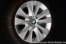 5 5er BMW E60 E61 ALUFELGEN DOPPELSPEICHE 116 WINTERRÄDER RADSATZ REIFEN WINTER