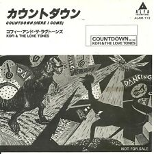 "KOFI & The Love Tones - Countdown (here I come)  JAPAN 7"" PROMO (1984) B.Sanders"