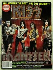 KISS Album & Tour Magazine MONSTER 20th Studio LP PHANTOM Of PARK Discography ++