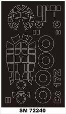 Montex Mini Mask 1:72 Do-17 Z for Airfix Kit Spraying Stencil #SM72240