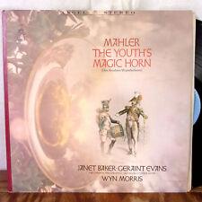 Janet Baker Wyn Morris Evans Mahler The Youth's Magic Horn LP Angel Stereo M-