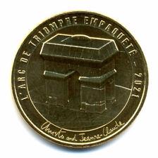 75008 L'Arc de Triomphe empaqueté, Christo, 2021, Monnaie de Paris