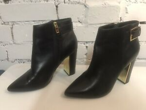 Ted Baker Leather Boots Size 6 VGC