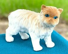 Dollhouse Accessory Miniature Hand Painted Detail Birman Cat Pvc Plastic Figure