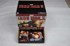 IRON MAN 3 HEROCLIX COUNTER DISPLAY GRAVITY FEEDER BOX 24 FIGURES FOIL PACKED