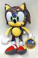 "Licensed Sonic the Hedgehog Plush Stuffed SEGA Special Edition Bomb Sticker 12"""