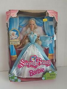 Vintage Barbie 1998 Sleeping Beauty Doll With Box