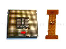 2X INTEL XEON LGA 771 TO 775 ADAPTER ★ PIN MOD STICKER ★ CORE 2 QUAD Q9650 Q9550