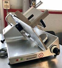 Bizerba Se12 Manual Commercial Deli Meat Slicer W/Sharpener