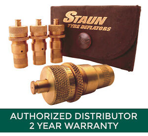 "STAUN Automatic Tire Deflators SCV5 (6-30 PSI) ""The quickest way to air down!"""