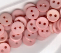 50 4mm Micro Mini tiny Light Rose Buttons Doll Buttons