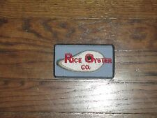 oyster company,Vintage patch, new old stock, 1960's