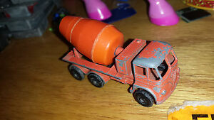 Lesney Vintage #26 Foden Cement Mixer Diecast Car Vehicle Made in England