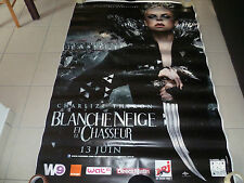 AFFICHE BLANCHE NEIGE NOW WHITE&THE HUNTSMAN 4x6ft Bus Shelter Poster Original
