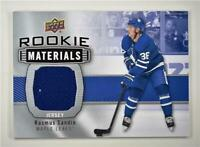 2019-20 Series 2 Rookie Materials #RM-RS Rasmus Sandin - Toronto Maple Leafs