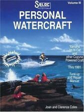 Seloc's Personal Watercraft by Chilton Book Company, 1991, Paperback Book NEW