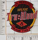 TRUE TRU BLOOD COVEN OF EVIL VAMPIRES VAMPIRE TV ROMANTIC FANTASY EMBELM PATCH