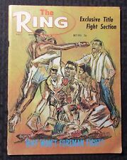 1975 July THE RING Boxing Magazine VG 4.0 Muhammad Ali - George Forman