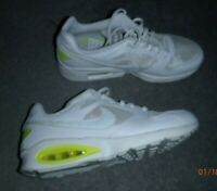 NIKE W Air Max COLISEUM Racer white leather trainers UK 7.5 US 10 RRP: 92 GBP