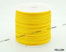 1mm 1.5mm - Chinese Knot Nylon Cord Shamballa Macrame Beading Kumihimo String