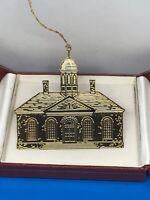 Vintage Colonial Williamsburg Ornament Brass