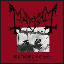 MAYHEM - Deathcrush - Woven Patch / Aufnäher