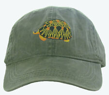 Radiated Tortoise Embroidered Cotton Cap NEW Hat Reptile Turtle