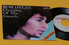 """BOB DYLAN 7"""" 45 CHANGING OF THE GUARDS ORIG HUNGARY 1978 EX+ UNIQUE RARE COVER !"""