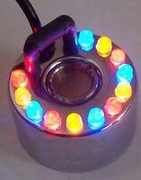 Ultraschall-Zerstäuber Teichnebler 3-fach Nebler mit Farbwechsellicht LEDs