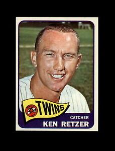 1965 Topps Baseball #278 Ken Retzer (Twins) NM