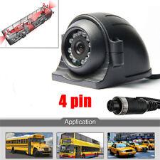 1pcs 4pin Waterproof IR Camera CCD Surveillance cameras For Truck Bus Vans