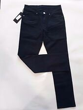 Salvatore Ferragamo Classic Dark Blue Jeans Casual Pants Made in Italy size 34