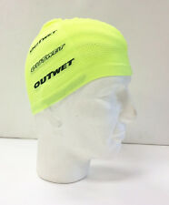Cycling Skull Cap in Hi Vis Yellow - Made in Italy by Outwet