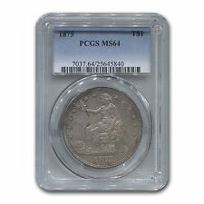 1875 Trade Dollar MS-64 PCGS - SKU #131937