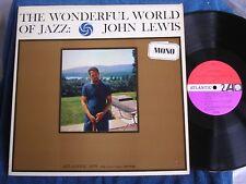 John Lewis/Wonderful World of Jazz/1961 Mono Issue/Atlantic 1375/PRISTINE MINT-