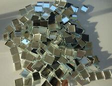1kg Spiegelmosaik 10x10x3 mm Mosaix-Spiegel ca. 1300 Stk- 1x1 cm Spiegel-Mosaik