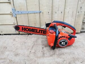 Vintage Homelite XL Top Handle Chainsaw