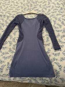 Blue Bodycon Dress Size 8