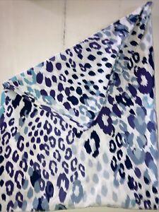 Pottery Barn Teen - l Standard Pillowcase Blue & Purple Leopard