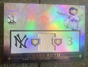 2010 Topps Tribute Babe Ruth Game Used Bat /99 Yankees TR-BRU