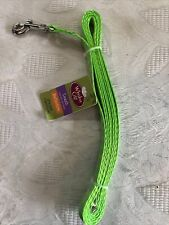 Whisker City Reflective Green Cat Leash 6 Ft.
