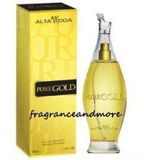 ALTA MODA PURE GOLD POUR FEMME FOR WOMEN 3.3 OZ / 100 ML EAU DE TOILETTE SPRAY